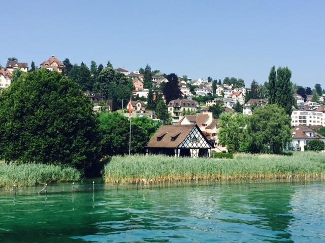 Seeufer mit Haus | Zürichsee